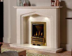 Charlton Marble Fireplace - Roman Stone Marble