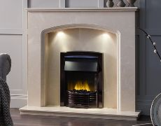 Venice Marble Fireplace - Roman Stone Marble