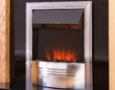 Accent Infusion Electric Fire - Chrome