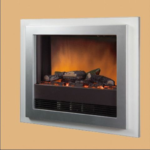 Bizet Electric Fire - White
