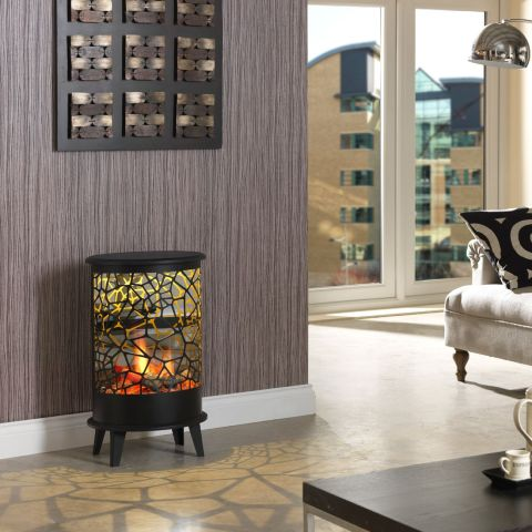 Cellini Opti-V Electric Fire -