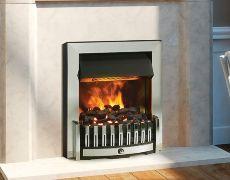 Danville Opti-Myst Electric Fire - Chrome - Coal
