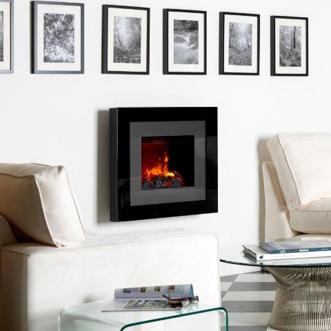 Dimplex - Redway Opti-Myst Electric Wall Fire - Log