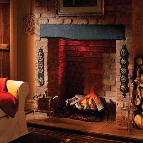 Dimplex - Silverton Opti-Myst Electric Fire Basket -