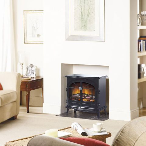 Dimplex - Stockbridge Electric Stove - Stockbridge Electric Stove - Logs