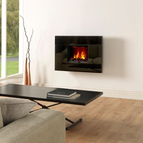 Dimplex - Tahoe Opti-Myst Electric Wall  Fire - Log