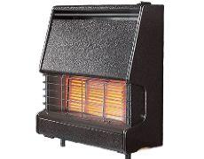 Firenza Outset Gas Fire - Firenza Outset Gas Fire - Black