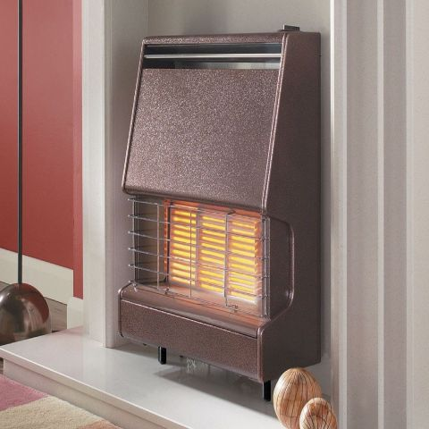 Firenza Outset Gas Fire - Firenza Outset Gas Fire - Bronze