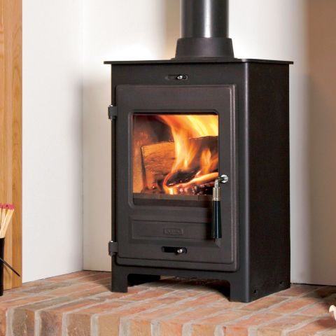 Flavel - No.1 Multi Fuel Stove - SQ05 - Square Door