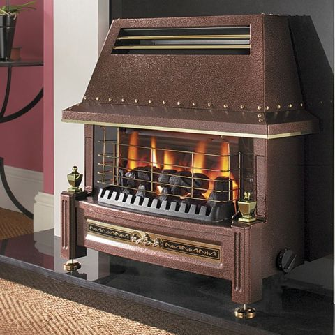 Flavel - Regent LFE Gas Fire - Regent LFE Gas Fire - Bronze