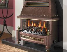 Regent LFE Gas Fire - Regent LFE Gas Fire - Bronze