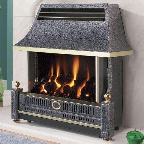 Renoir Gas Fire - Renoir Gas Fire - Black