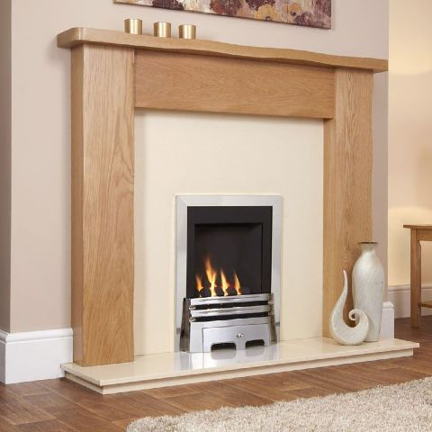 Flavel - Windsor Classic Gas Fire - Chrome - Coal