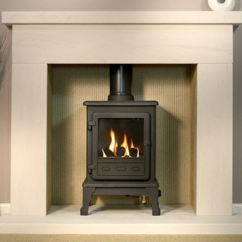 The Gallery Collection - Firefox 5 Gas Stove - Coal Effect