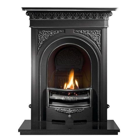 Nottage Combination Cast Iron Fireplace - Highlighted