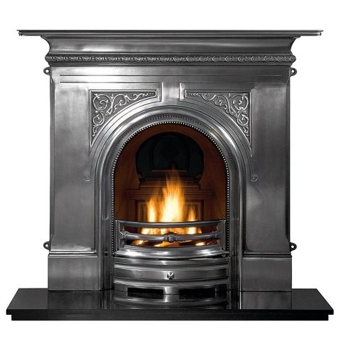 Pembroke Combination Cast Iron Fireplace - Full Polished