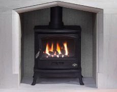 Tiger Gas Stove - Coal Effect