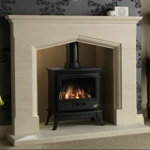 The Gallery Collection - Tiger Gas Stove - Log Effect