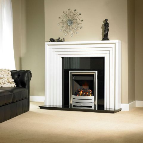 Trent Fireplaces - Boxbridge Fire Surround - In White