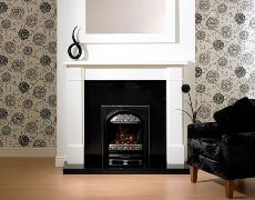 Brindisi Fire Surround - Brindisi Fire Surround - In White
