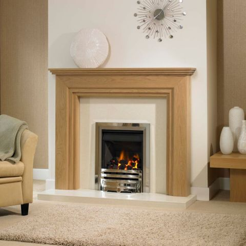 Brookfield Fire Surround - Brookfield Fire Surround - In Clear Oak