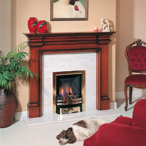 Trent Fireplaces - Cairn Fire Surround - In Cherry Patina