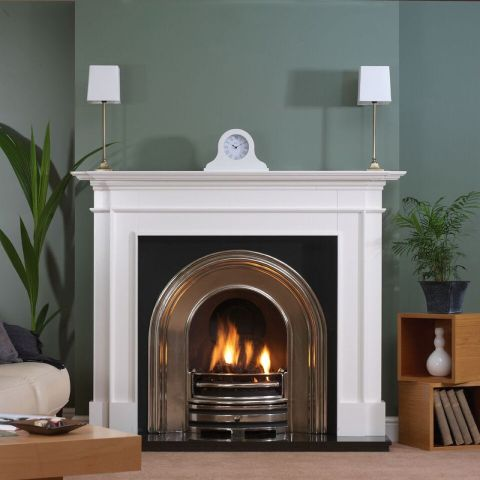 Trent Fireplaces - Chelsea Fire Surround - Chelsea Fire Surround - In White