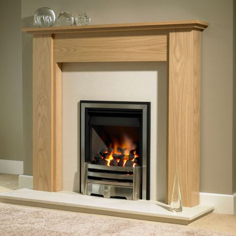 Trent Fireplaces - Corsair Fire Surround - Corsair Fire Surround - In Clear Oak