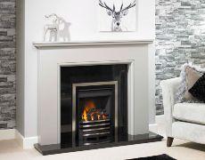 Highland Fire Surround - Highland Fire Surround - In Mineral Grey