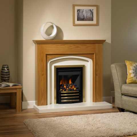 Trent Fireplaces - Livy Fire Surround - Livy Fire Surround - In Natural Oak