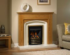 Livy Fire Surround - Livy Fire Surround - In Natural Oak