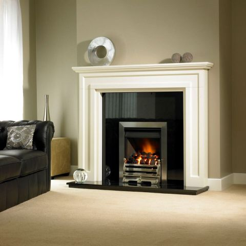 Trent Fireplaces - Mayfair Fire Surround - Mayfair Fire Surround - In Magnolia