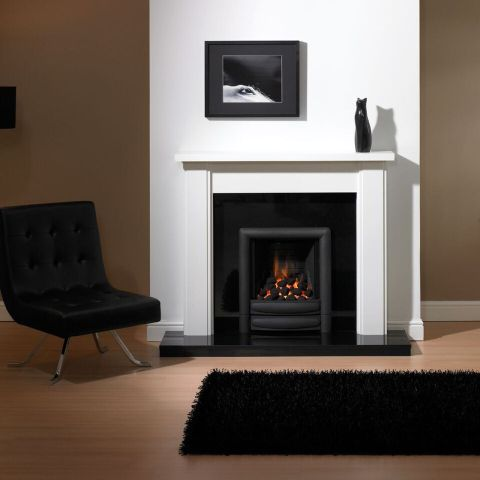 Trent Fireplaces - Modena Fire Surround - In White