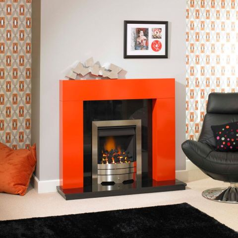 Trent Fireplaces - Orwell Fire Surround - Orwell Fire Surround - In Sunset Orange