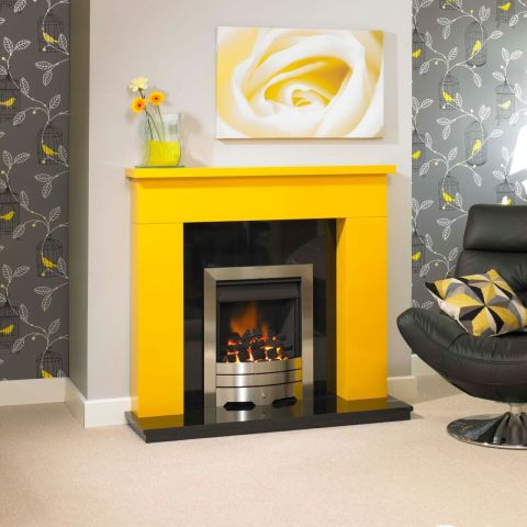 Trent Fireplaces - Othello Fire Surround - Othello Fire Surround - In Sunrise Yellow