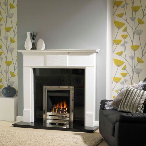 Pemdean Fire Surround - Pemdean Fire Surround - White