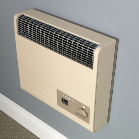 Valor - Brazilia F5 Gas Wall Heater - Beige
