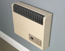Brazilia F5 Gas Wall Heater - Beige
