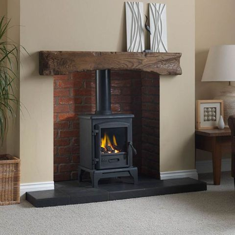 Valor - Brunswick Gas Stove - Coal Effect