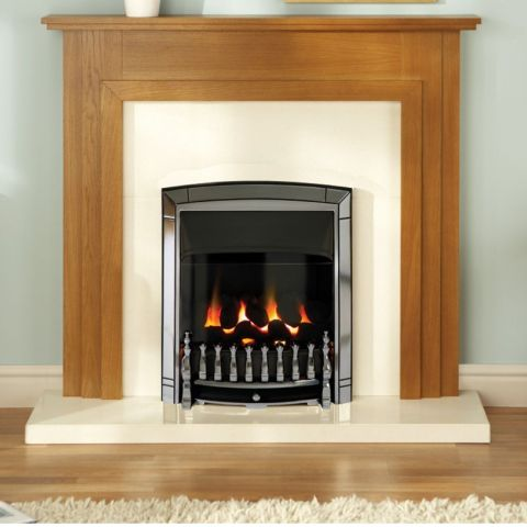 Dream Balanced Flue Gas Fire - Dream Balanced Flue Gas Fire-Chrome
