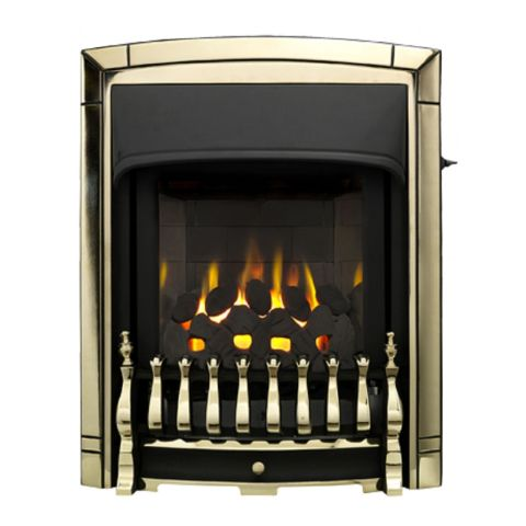Dream Slimline Homeflame Gas Fire - Dream Slimline Homeflame - Pale Gold