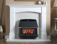 Firecharm LFE Electronic Outset Gas Fire - Firecharm LFE Electronic Outset Gas Fire-Black