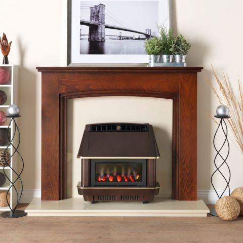 Valor - Firecharm RS Electronic Outset Gas Fire - Firecharm RS Electronic Outset Gas Fire - Bronze