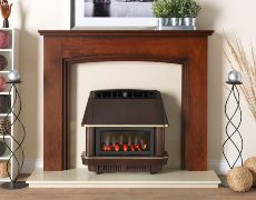 Firecharm RS Electronic Outset Gas Fire - Firecharm RS Electronic Outset Gas Fire - Bronze