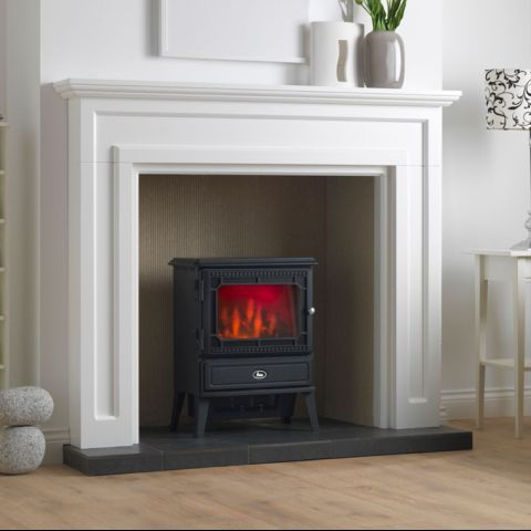 Valor - Glendale Dimension Electric Stove - Coal Effect