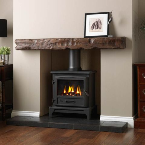 Ridlington Gas Stove - Coal Effect