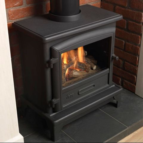 Ridlington Gas Stove - Log Effect