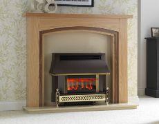 Sahara LFE Electronic Outset Gas Fire - Sahara LFE Electronic Outset Gas Fire - Bronze