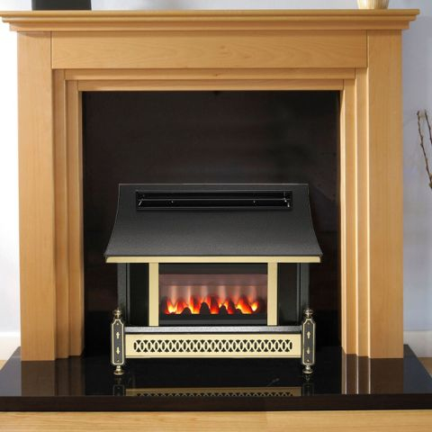 Valor - Sahara LFE Electronic Outset Gas Fire - Sahara LFE Electronic Outset Gas Fire - Black