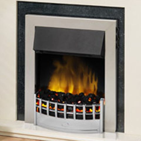 Wesley Electric Fire - Chrome